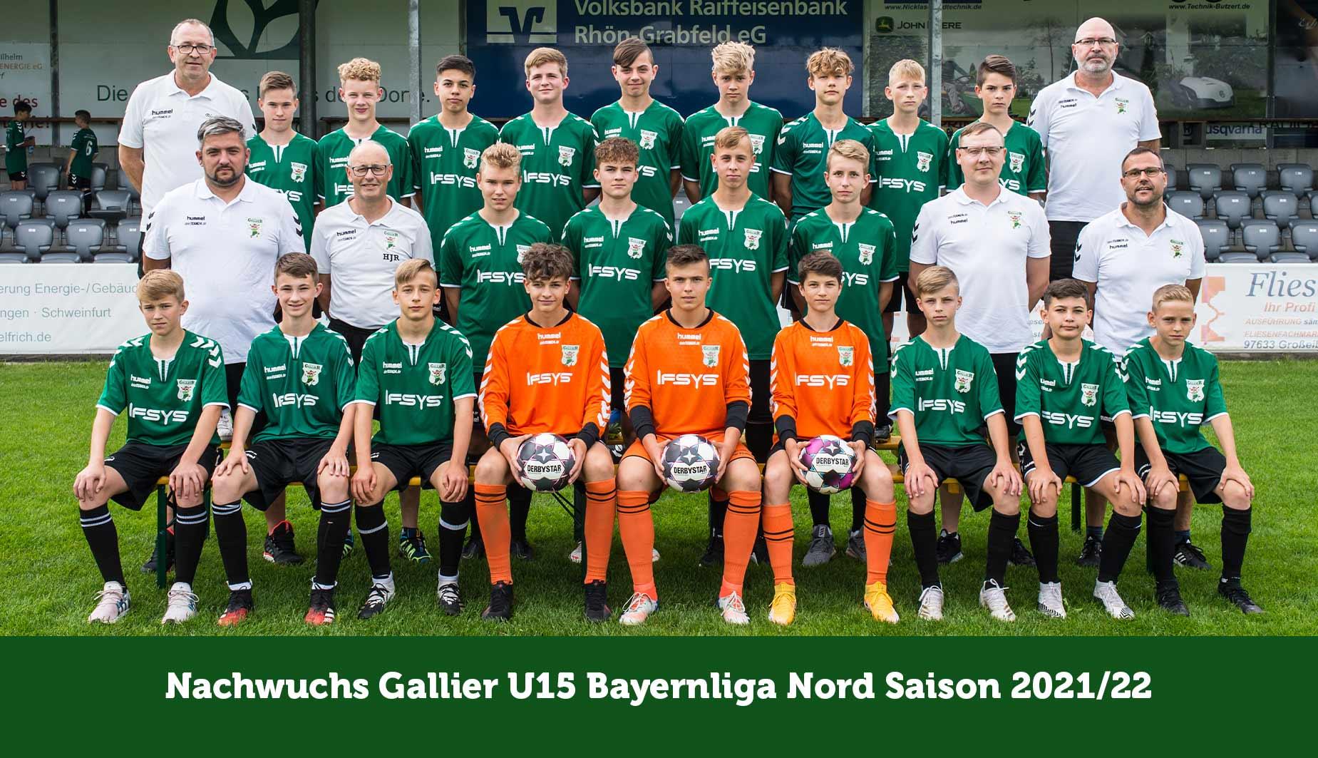 TSV Großbardorf - Mannschaft U15