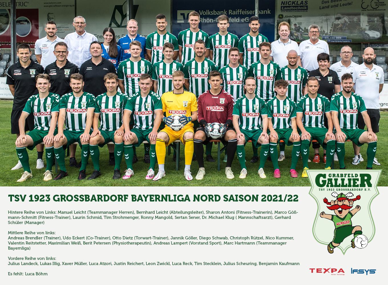 TSV Großbardorf - Team 2021